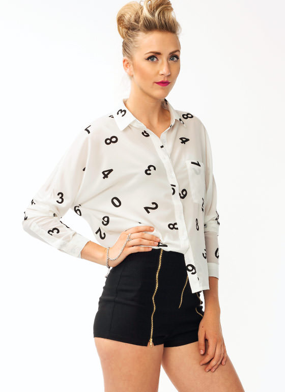 Numeral Blouse IVORY