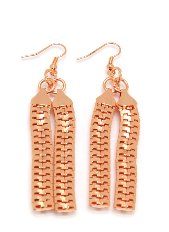 Layered Snake Chain Necklace Set ROSEGOLD