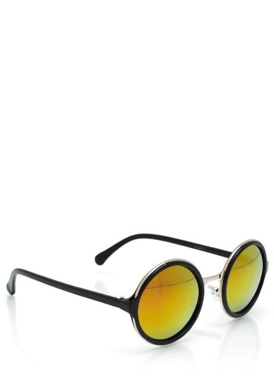Color My World Sunglasses BLACKORG