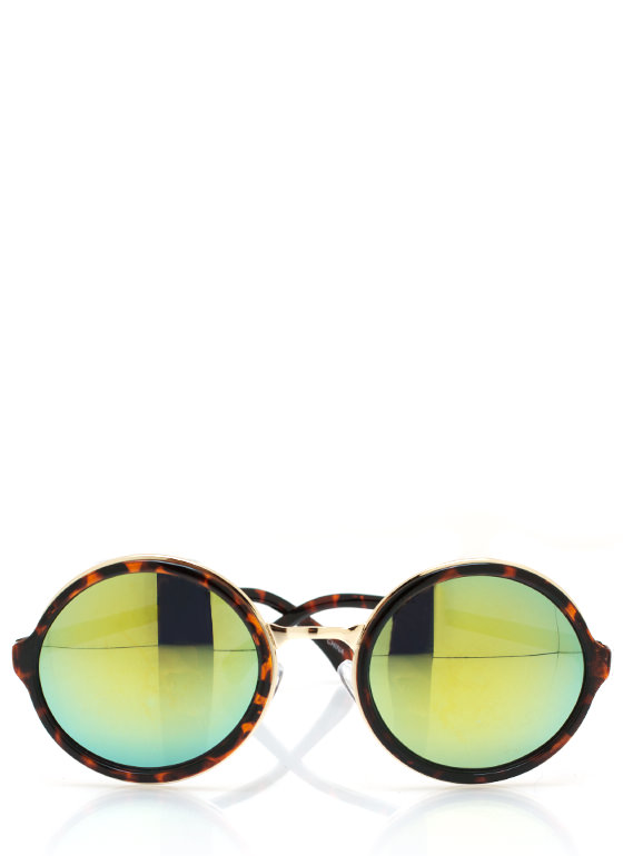 Color My World Sunglasses TORTGREEN