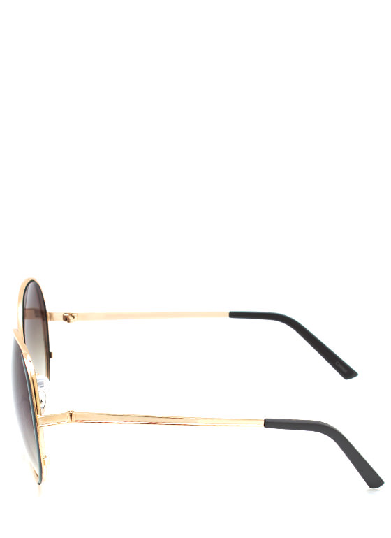 Pop Of Color Sunglasses GREYGOLD
