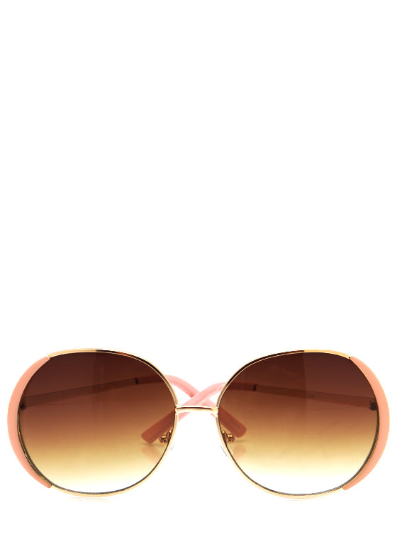 Pop Of Color Sunglasses PINKGOLD