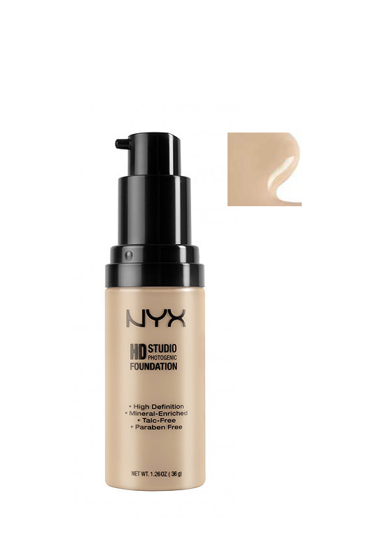 NYX HD Studio Foundation SANDBEIGE