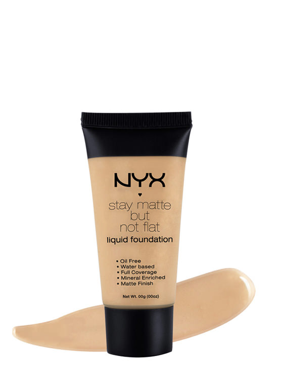 NYX Stay Matte Foundation MEDIUMBEIGE (Final Sale)