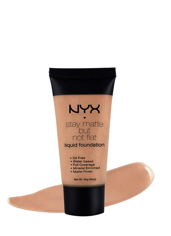 NYX Stay Matte Foundation NUTMEG