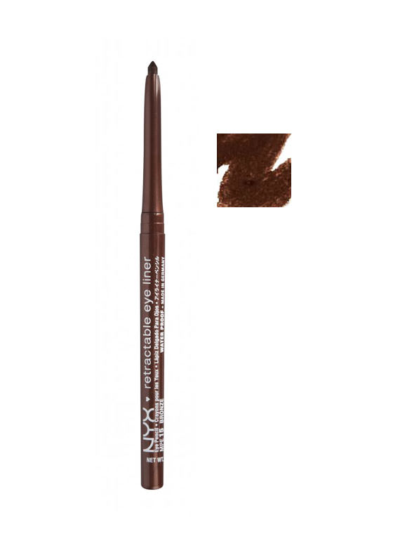 NYX Retractable Eye Liner BRONZE