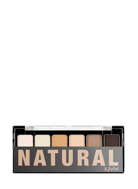 NYX Natural Shadow Palette MULTI