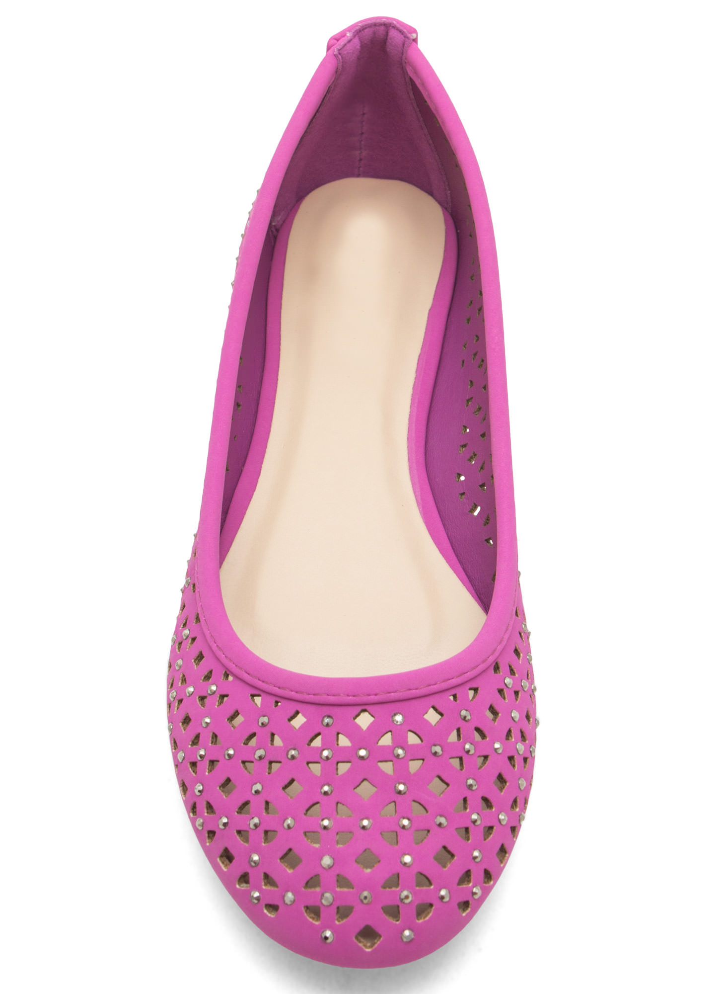 Cut-Out Ballet Flats ORCHID