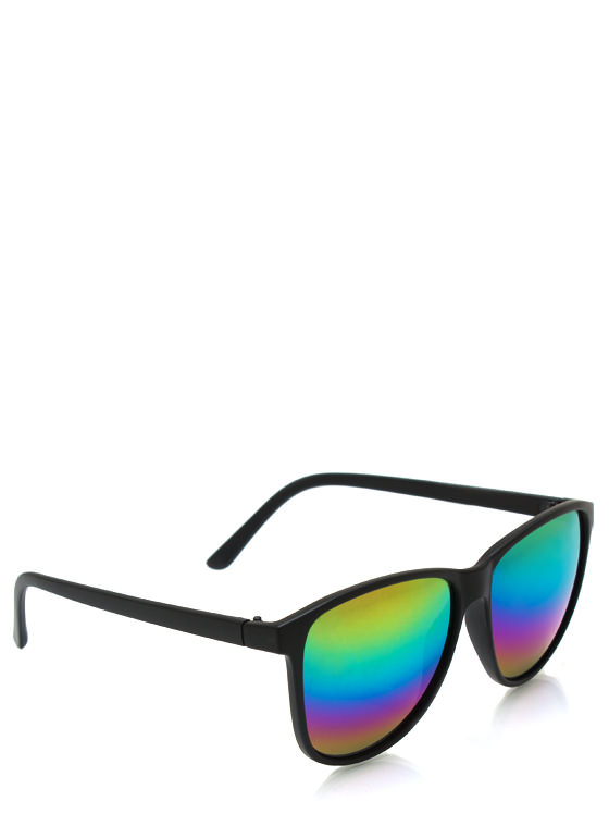 Time To Reflect Sunglasses BLACKMULTI