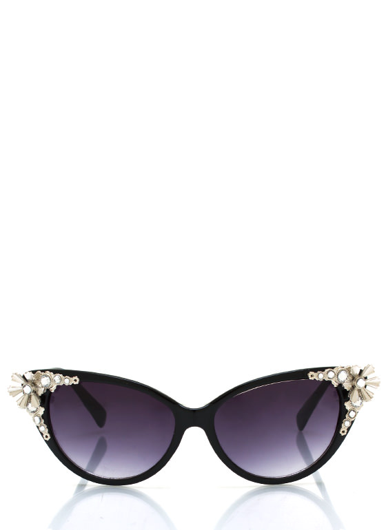 Flower Child Sunglasses BLACKSILVER