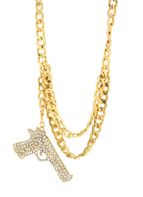 Armed And Fabulous Necklace GOLD