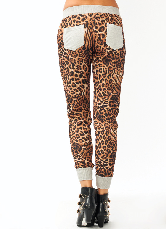 Wild Cat Lounge Pants MOCHAGREY
