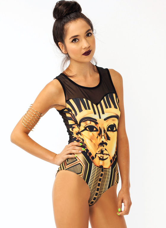 The Golden King Bodysuit BLACKYLLW
