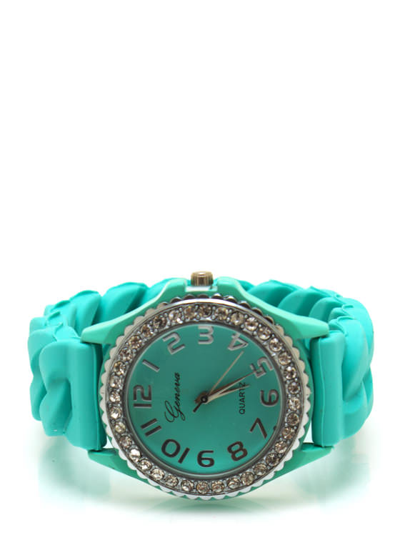 Diamonds Are Forever Silicone Watch MINT