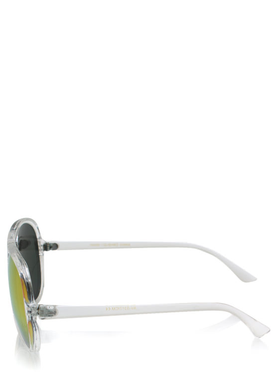 De Colores Aviator Sunglasses CLEARFUCH