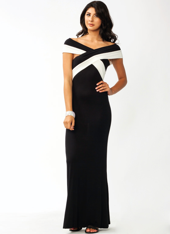 X Marks The Spot Maxi Dress BLACK