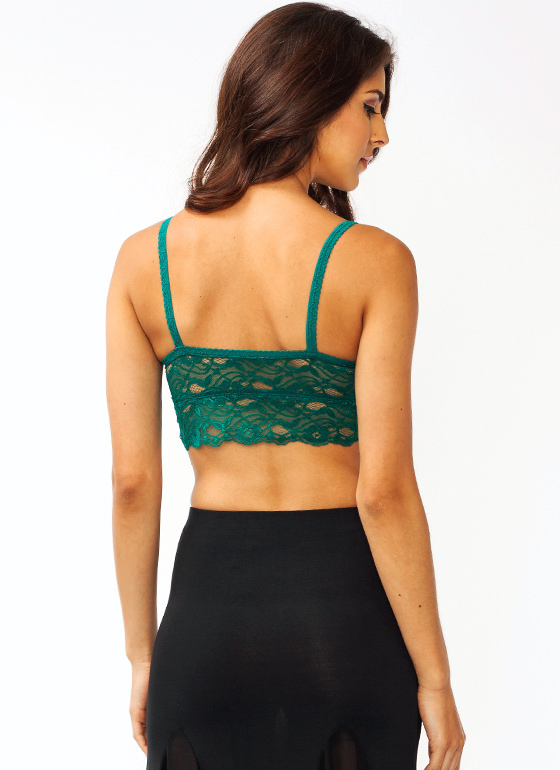 Ace Of Lace Bralette GREEN