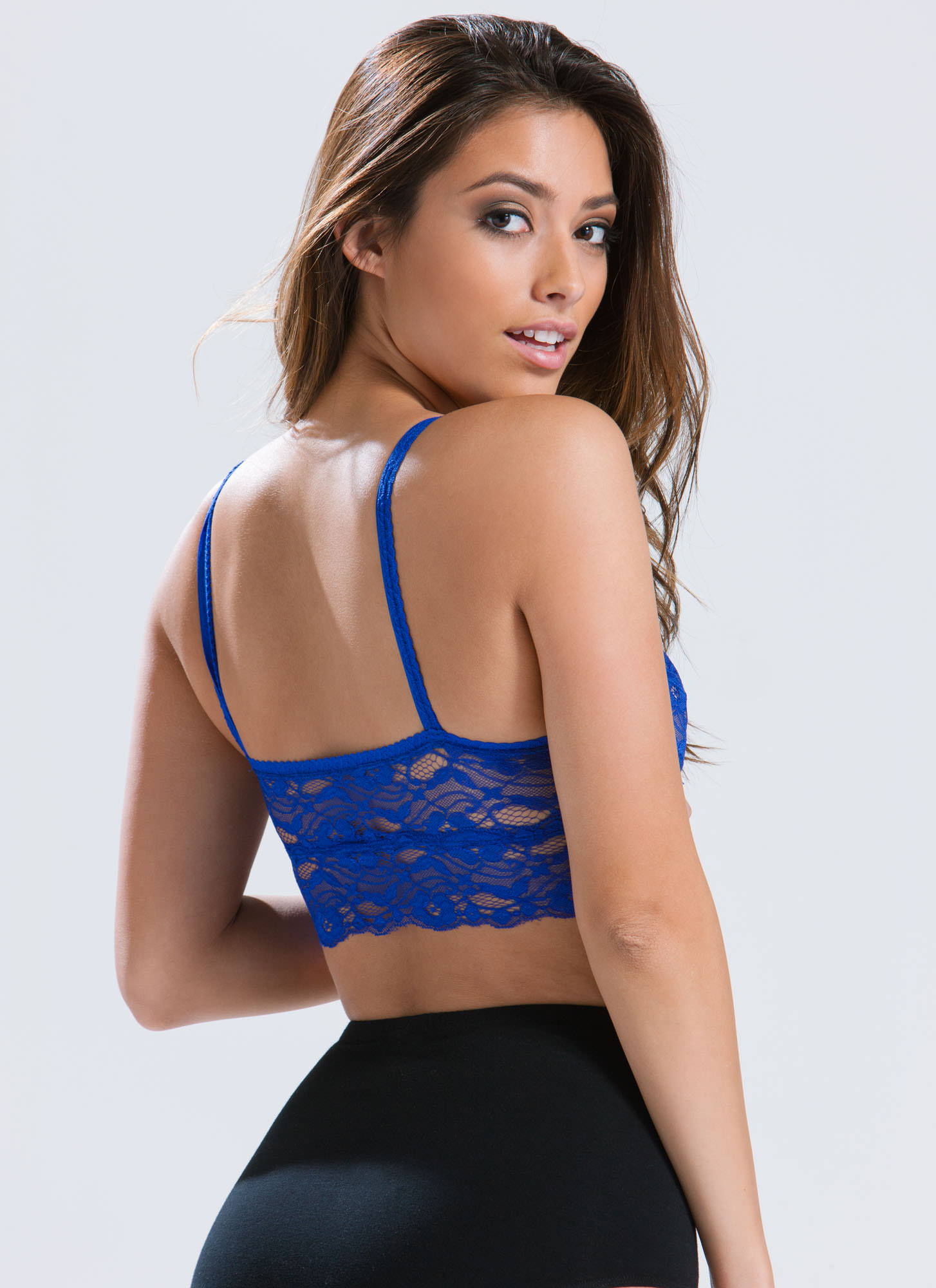 Ace Of Lace Bralette ROYAL (Final Sale)