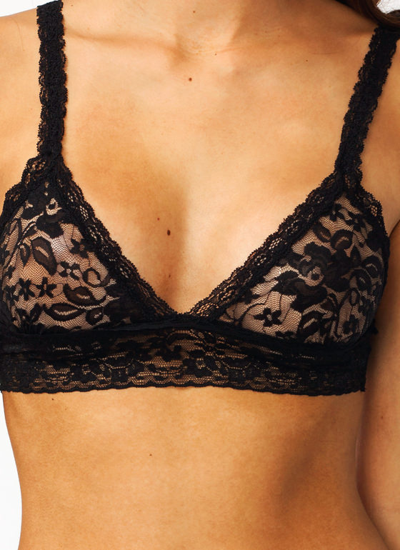 Little Lace Bralette BLACK