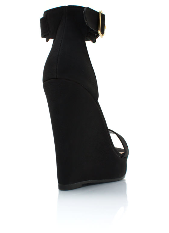 Strap It And Tap It Wedges BLACK