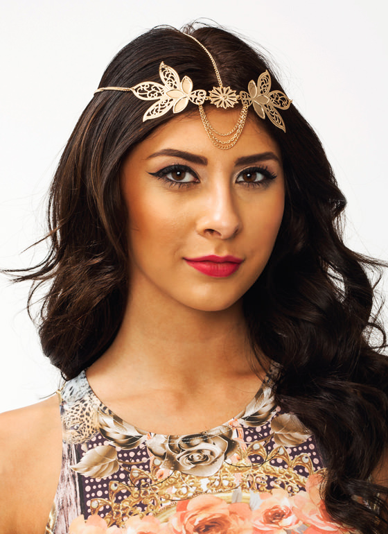 Flower Headpiece GOLD