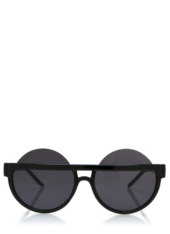 Over The Top Sunglasses BLACK