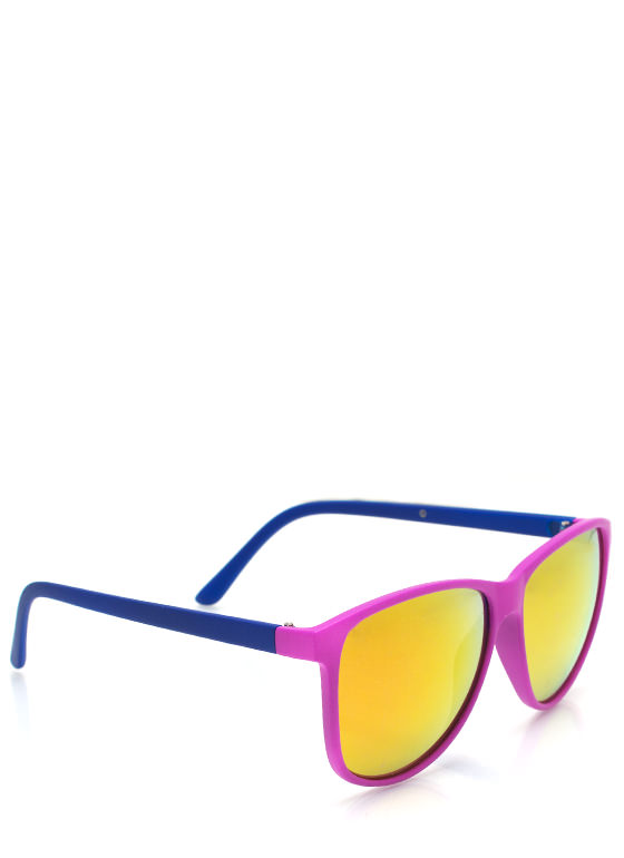 Color Blast Sunglasses BERRYBLUE