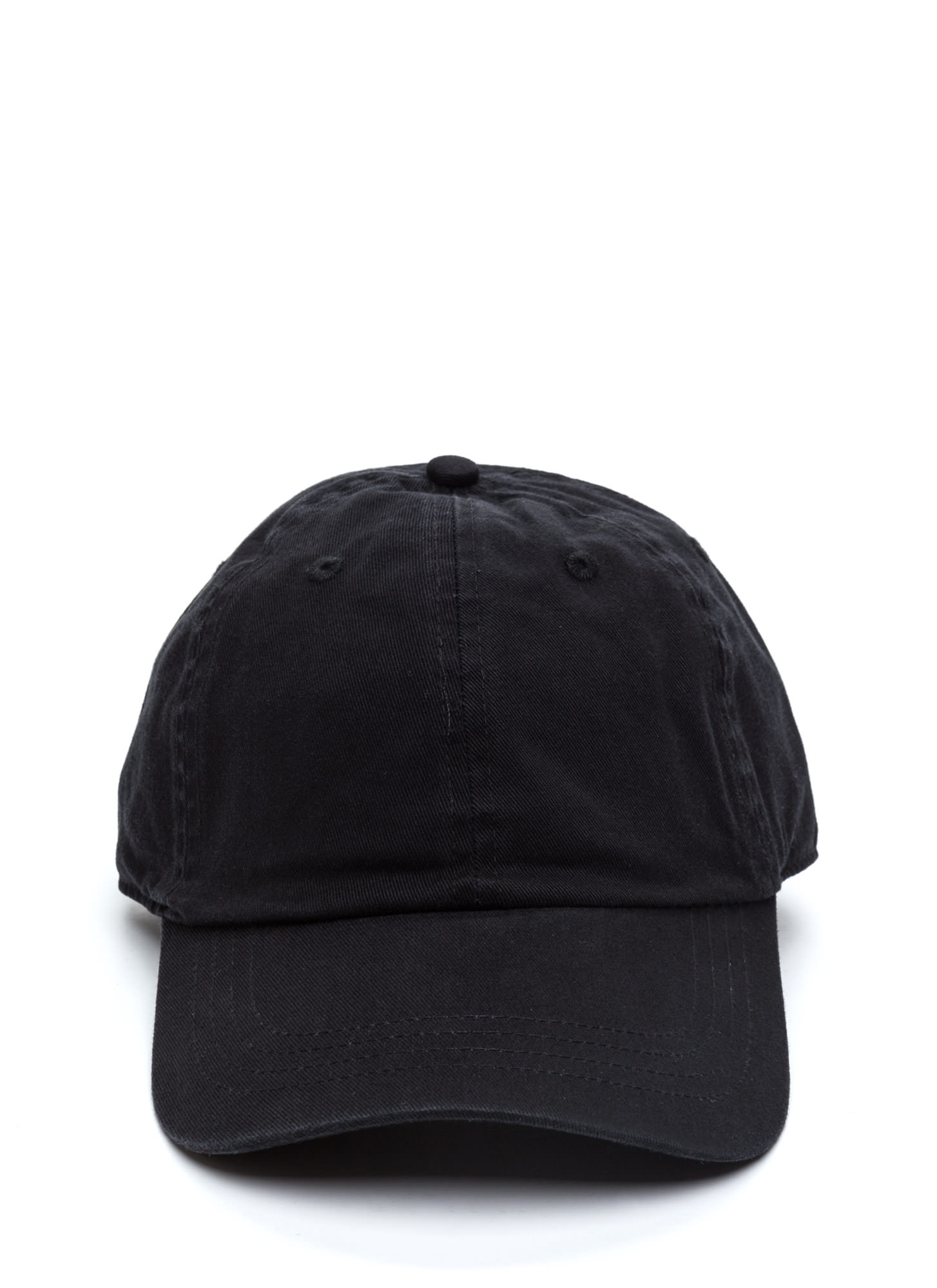 Not A Player Baseball Cap BLACK