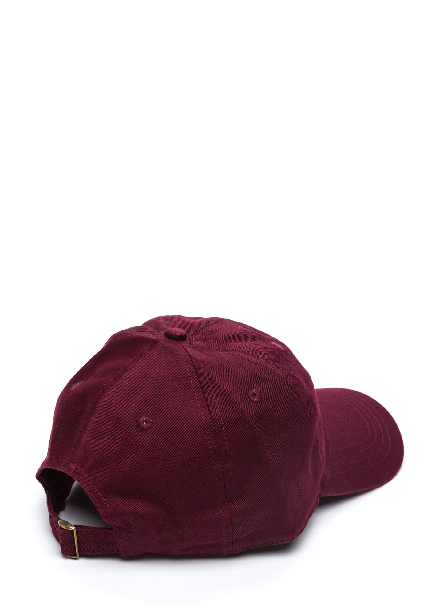 Not A Player Baseball Cap BURGUNDY