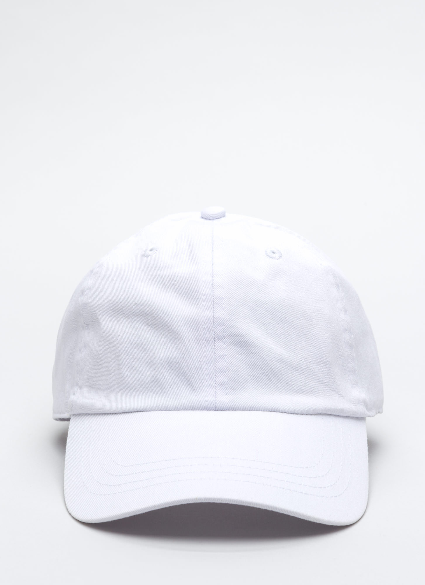 Not A Player Baseball Cap WHITE