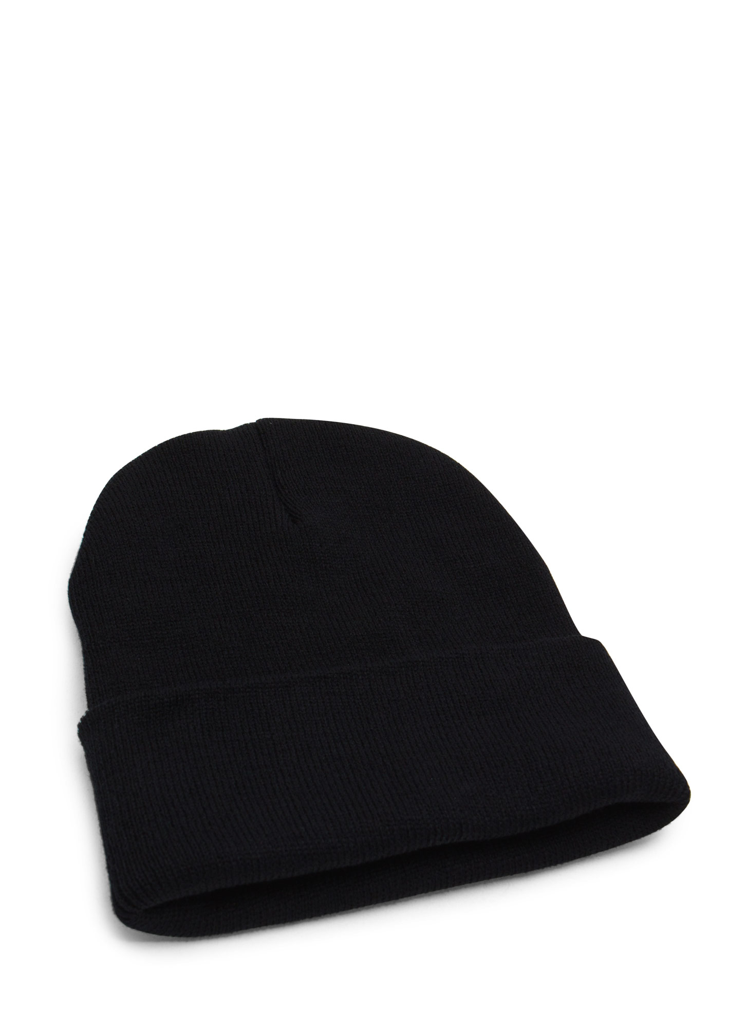 Super Long Sweater Beanie BLACK