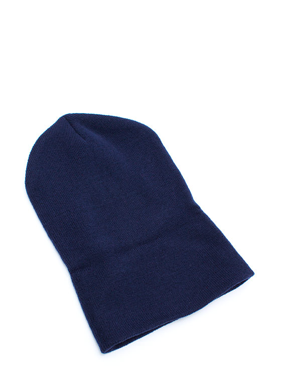 Super Long Sweater Beanie NAVY