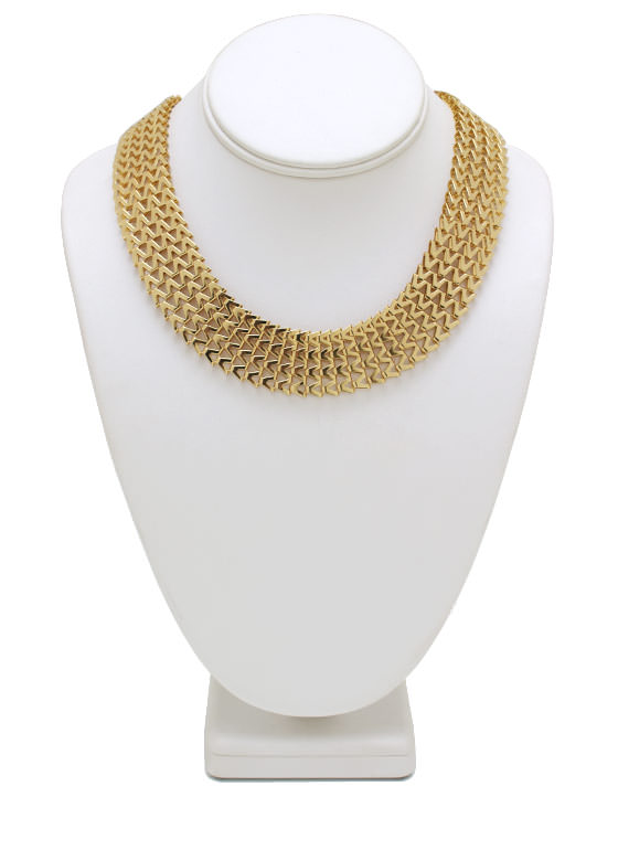 Ziggy Zag Necklace Set GOLD