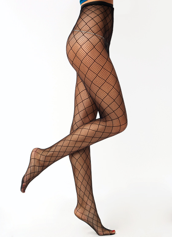 Out Of Line Fishnet Stockings BLACK (Final Sale)