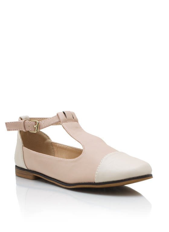 Tailored Tux Flats NUDE