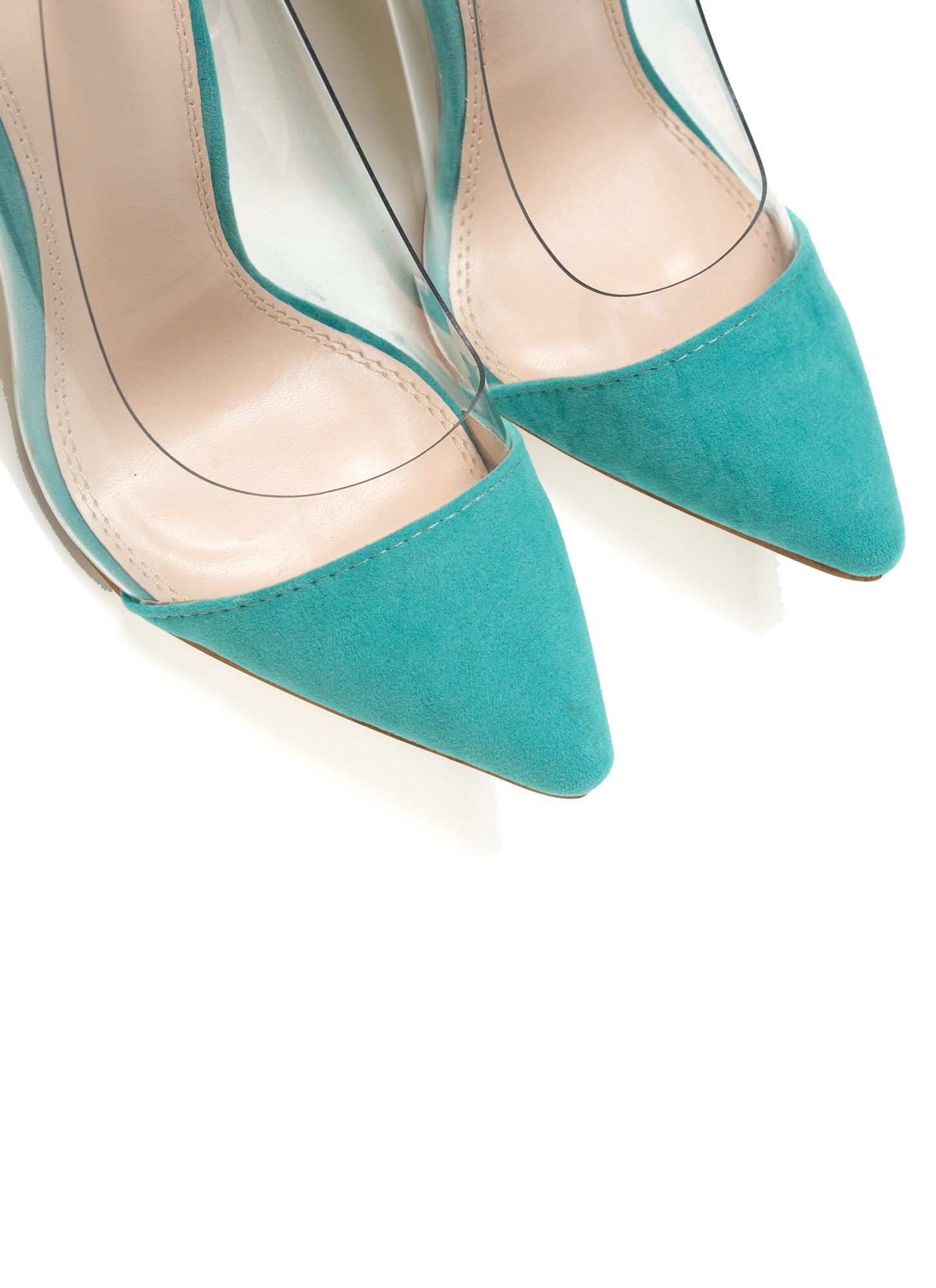 Show Some Skin Cap Toe Heels MINT