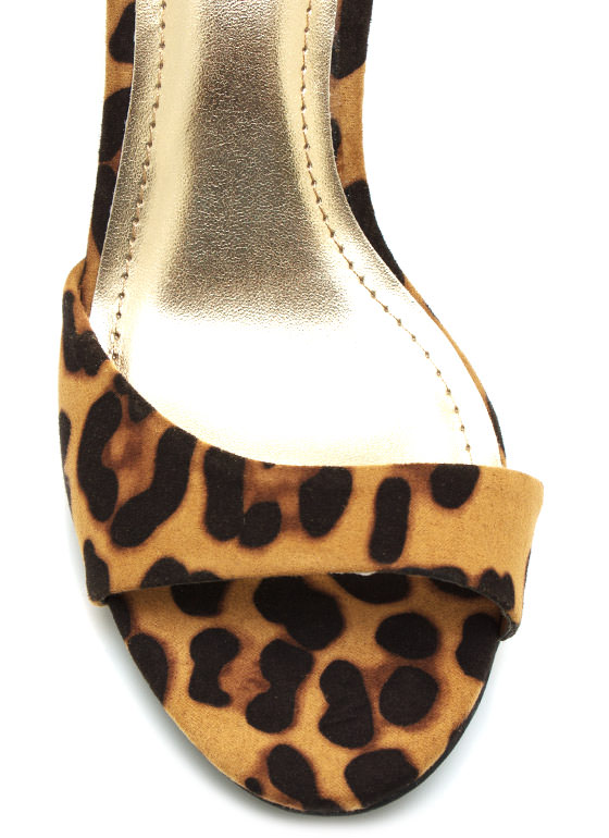 Feline Good Leopard Single Sole Heels LEOPARD