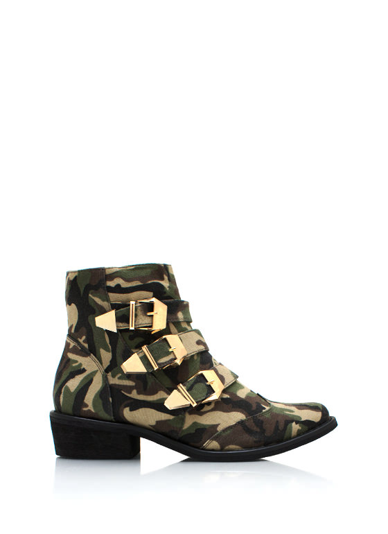 Hide And Seek Cowgirl Boots CAMO