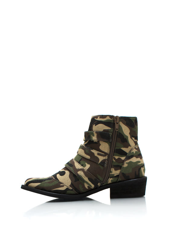 Hide And Seek Cowgirl Boots CAMO (Final Sale)
