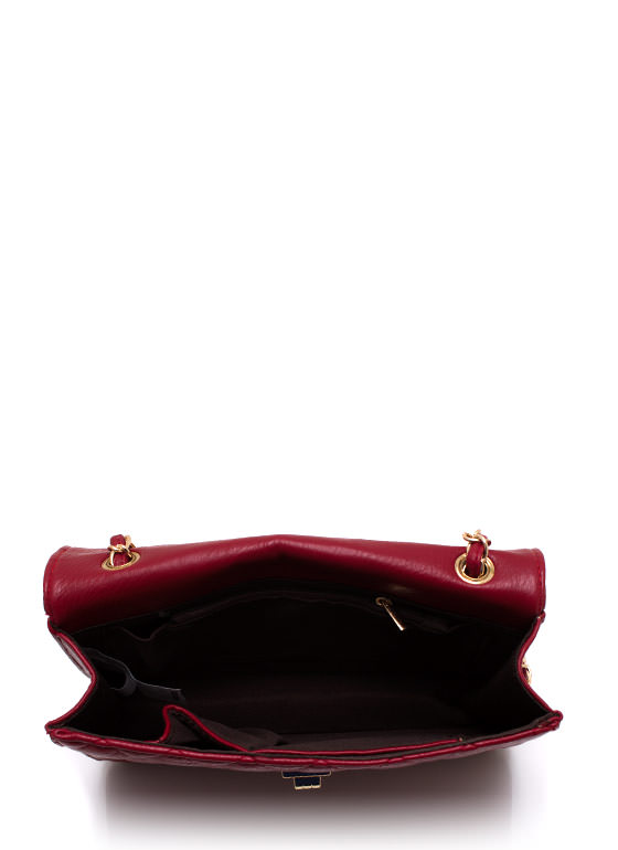 Feeling Quilty Purse REDGOLD