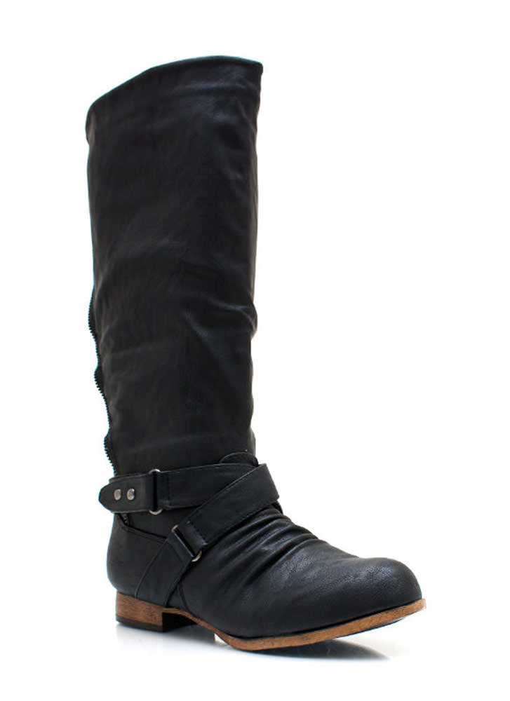 Zippy Riding Boots BLACK