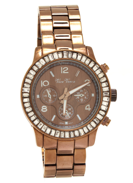 Boss Lady Boyfriend Watch BRONZE