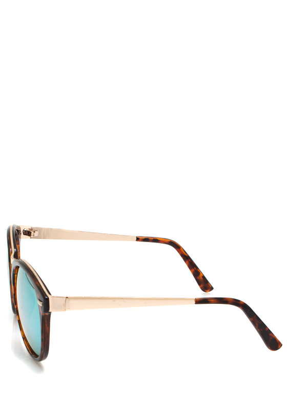 Seeing Colors Reflective Sunglasses TORTLIME
