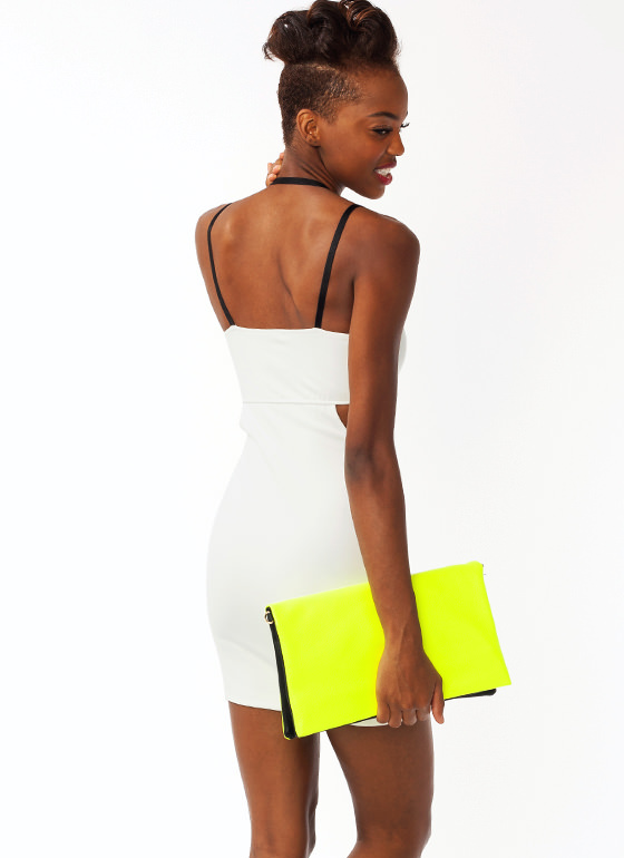 Its A Strap Mini Dress IVORY