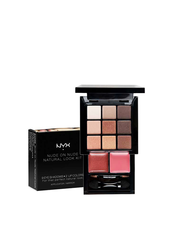 NYX Nude Natural Look Kit MULTI
