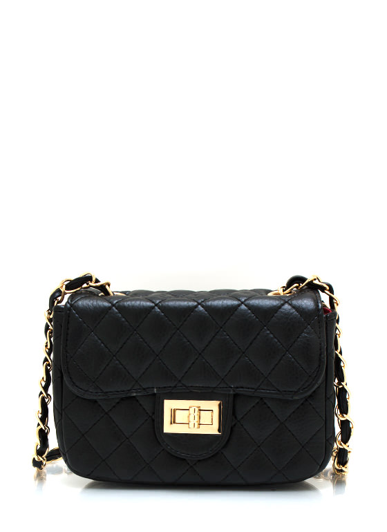 Quilty Pleasures Clutch BLACK