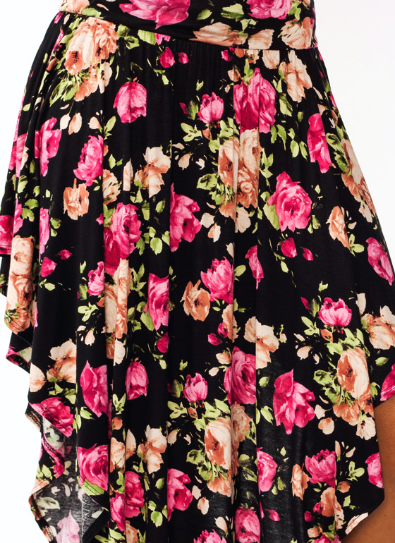 Garden Party Double V Skirt BLACKPINK