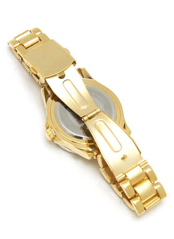 Mining Diamonds Watch GOLD