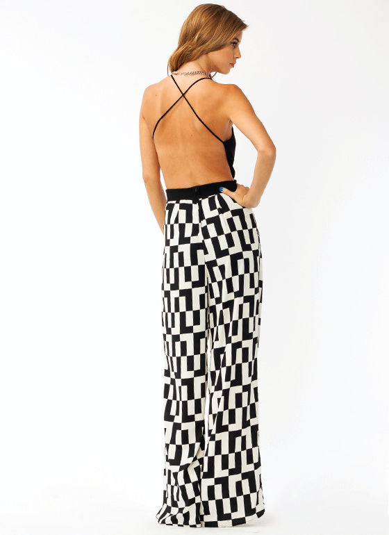 Squared Up Jumpsuit BLACKIVORY