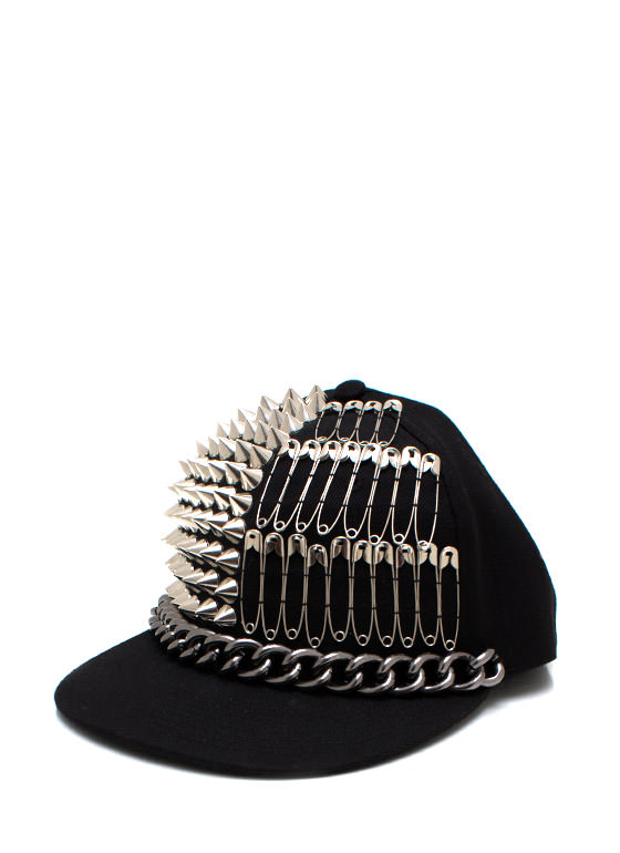 Off The Chain Snapback BLACKSILVER